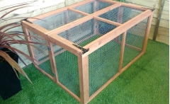 5ft x 3ft collapsible rabbit / guinea pig run