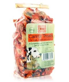 burns carrot treats 100g
